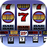 Icon for Arcadia Slots, featuring a rounded square with an image of a slot machine inside.